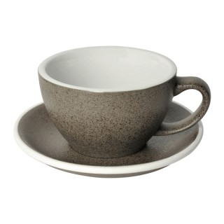 Loveramics Egg - Café Latte 300 ml - Kávéscsésze+Tányér - Granite