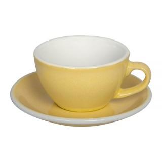 Loveramics Egg - Cappuccino 200 ml - Kávéscsésze+Tányér - Butter Cup