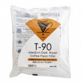 CAFEC Paper Filter Roast Coffee medium-dark 4-cup 100pcs wht MC4-100W