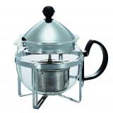 """HARIO Tea Maker """"Chaor"""" 4 Cup SILVER"""