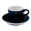 Loveramics Egg - Espresso 80 ml - Kávéscsésze+Tányér - Farmerkék