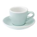 Loveramics Egg - Espresso 80 ml - Kávéscsésze+Tányér - Világoskék