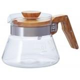 HARIO Coffee Server 400 ml Olive Wood