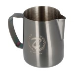 Barista & Co Dial In Milk Pitcher 420ml Rose Brass