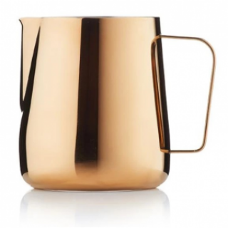 Barista & Co Core Milk Pitcher 420ml Rose Brass