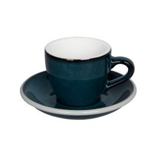 Loveramics Egg - Espresso 80 ml - Kávéscsésze+Tányér - Night Sky