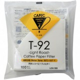 CAFEC Paper Filter Roast Coffee light 1-cup 100pcs wht LC1-100W
